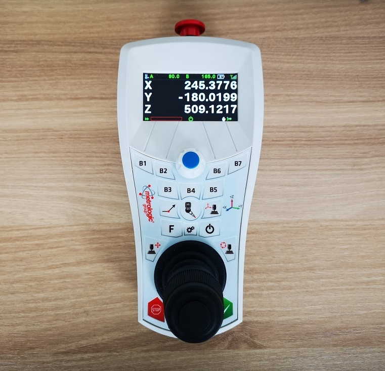 hardware - retrofit - maquinas medição tridimensional - joystick - metrologia industrial - controlo e inspecção dimensional - s4metro