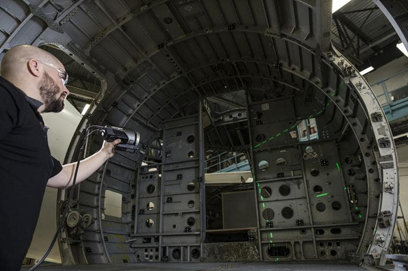 maxshot3d - scanner 3D - scanning 3D - digitalização 3D - metrologia industrial - controlo e inspecção dimensional - s4metro - robot