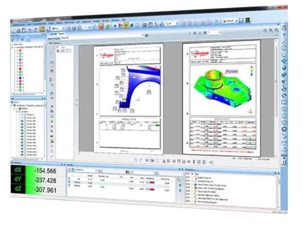MetrologX4 - software inspecção e controlo dimensional - metrologia industrial - s4metro - scanner 3d