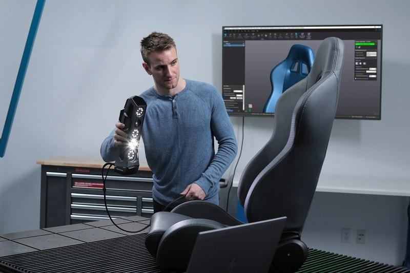 goscan - scanner 3D - metrologia industrial - controlo e inspecção dimensional - s4metro - scanning 3D - digitalização 3D